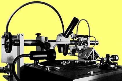 Cutter with Technics SL1210MK2